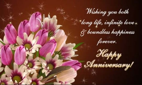 Top  Beautiful Wedding Anniversary Wishes For Parents