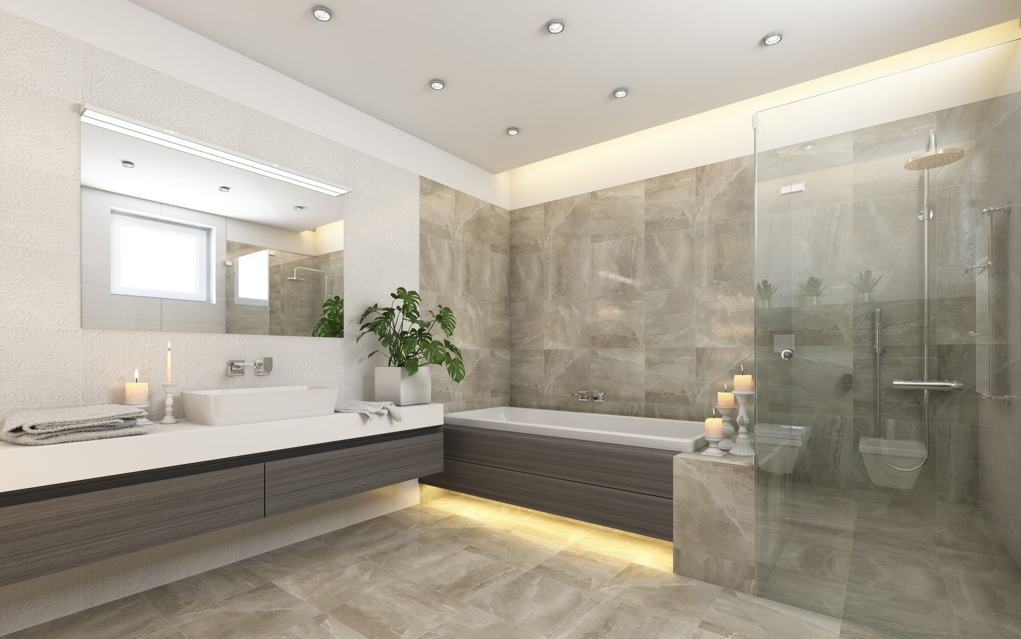 10 Common Features of Luxury Bathroom Designs